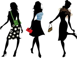 three women silhoutte